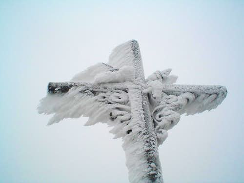 The cross of the summit