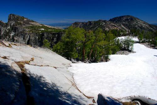 Camas Point and Ward Mountain