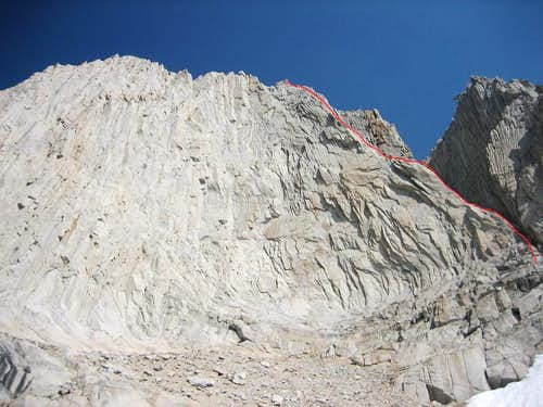 South East Arete of The Cleaver