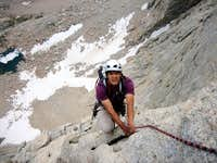 Scotty following pitch 4