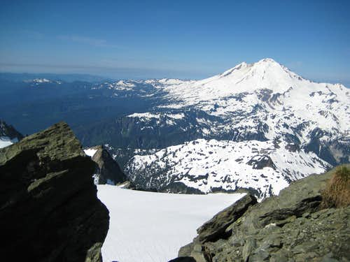 Shuksan- Baker from summit
