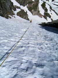 Y gully (left)