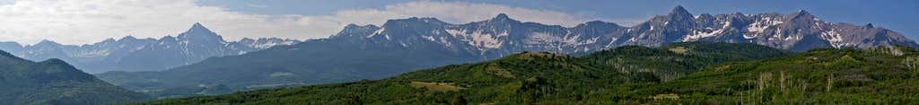 Mt Sneffels Pano