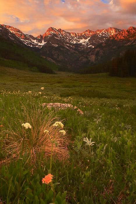 Peak C above Piney Valley
