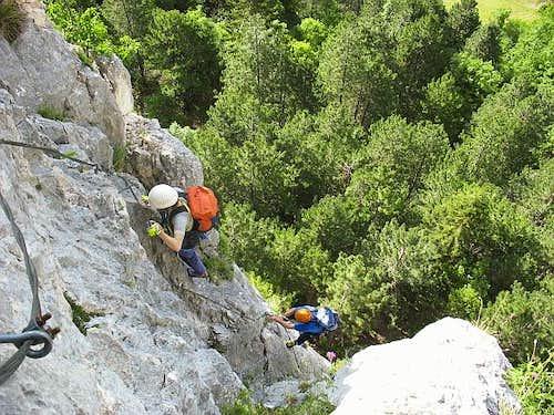 HTL Via Ferrata - HTL Klettersteig