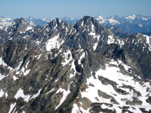 Ragged Ridge from Black Peak