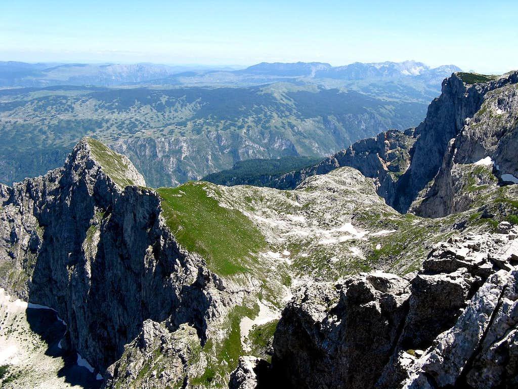 Zmajeva greda(2273m)...