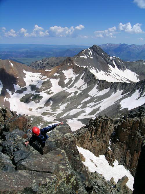 Final move on Mt. Wilson