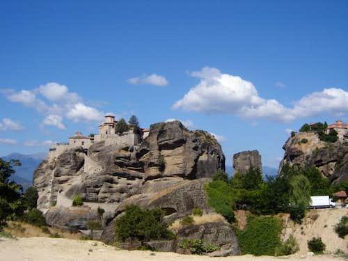 Monastiers in Meteora,Greece