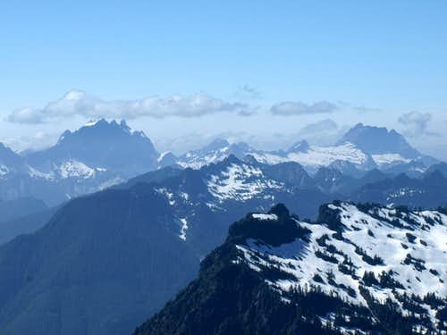 Three Fingers and Whitehorse (from Mount Dickerman)