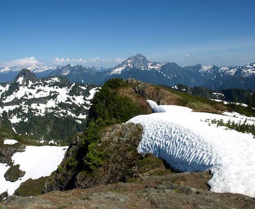Mount Dickerman melting out