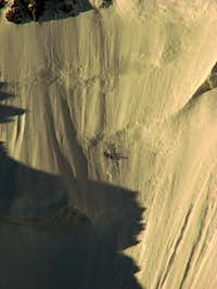 Climbers on Ortler's Nordwand