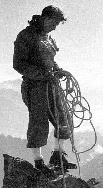 In the Ortler region, 1935