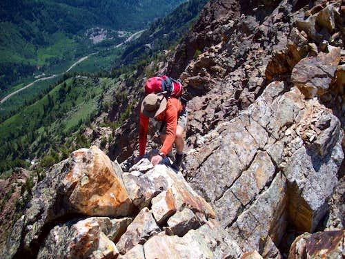 CRT Crux below Monte Cristo