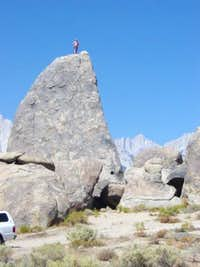 Shark Fin - Alabama Hills