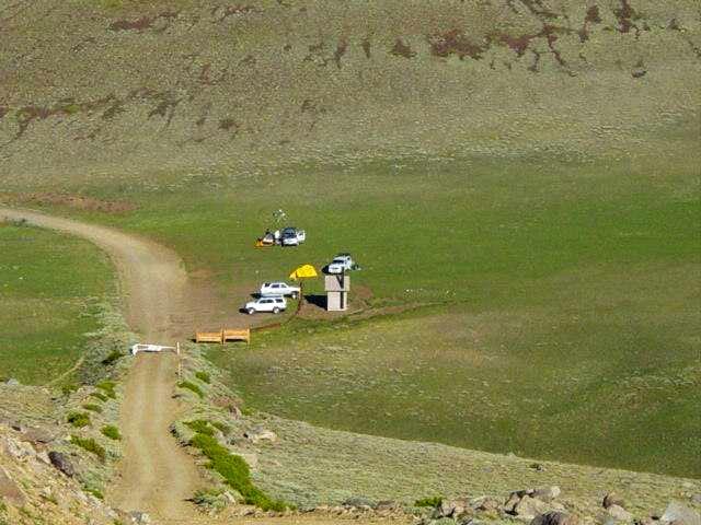 Open Camping Area - White Mountain