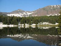 Overlook Mountain and Emerald Lake