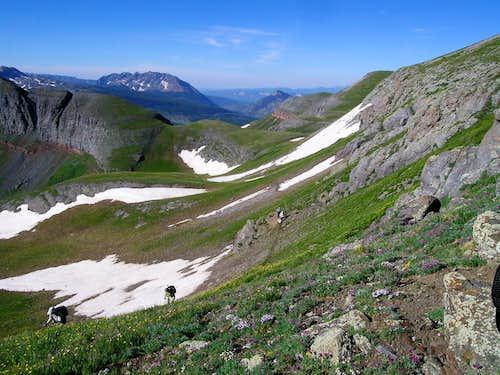 On the ridge to Sultan