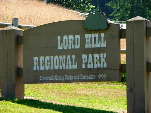 Entrance To Lord Hill Regional Park