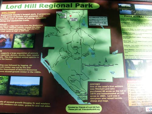 Lord Hill Informational Map