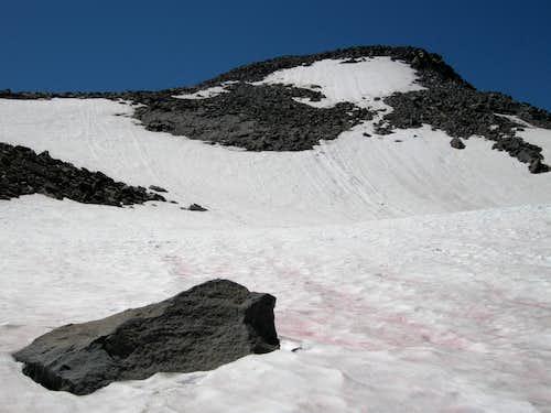 Permanent Snowfield near Summit