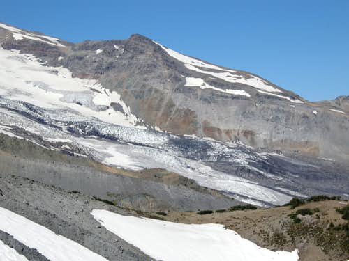 The Lower Emmons Glacier