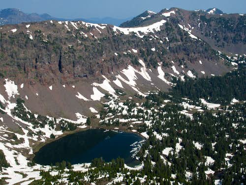 Heather Lake and the Northern Gallatins