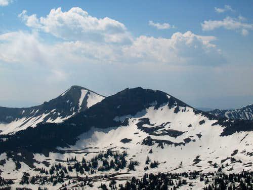 Hyalite Peak and Peak 10,201