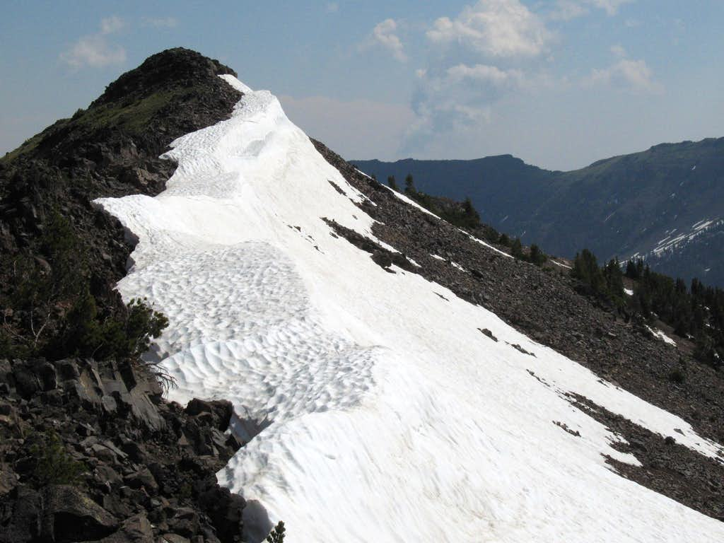 Divide Peak-- Summit