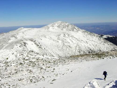 Mt Adams from the summit of...