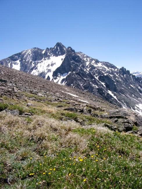 Northwest Ridge of Mt Wood...