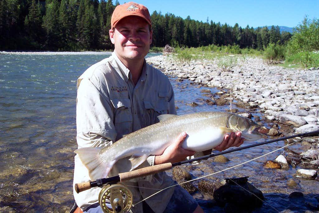Bull trout photos diagrams topos summitpost for Whitefish montana fishing