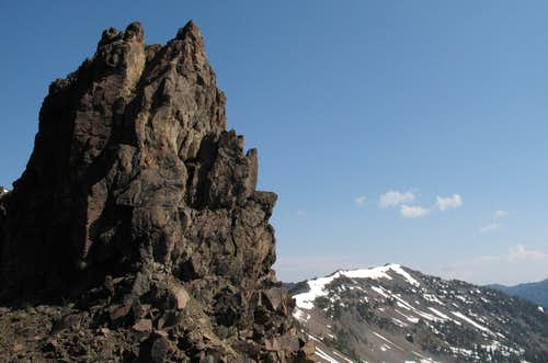 Pinnacle and Divide Peak