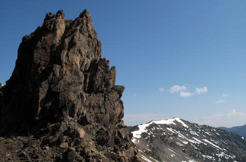 Pinnacle and Divide Peak