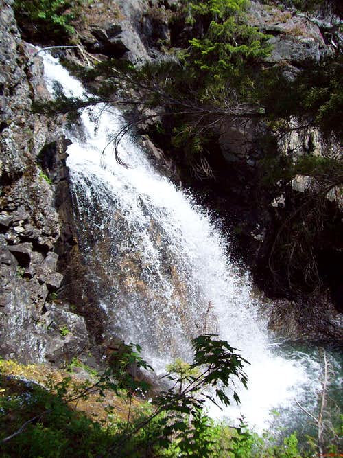 Waterfall on Hawkins