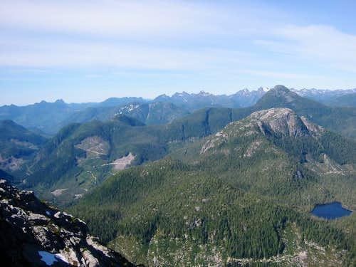 Conuma Peak East Aspect