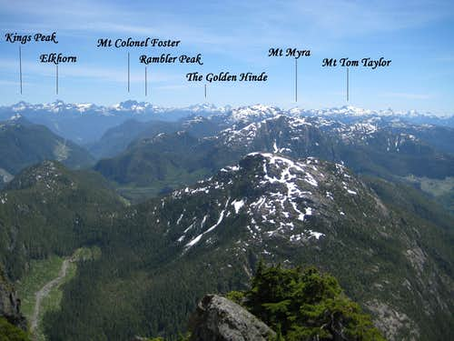 Strathcona Park Mountains