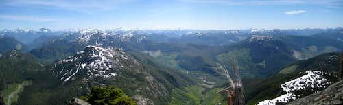 Conuma Peak Panorama