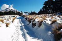 A freak snow storm on Orizaba...