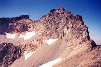Access to Dumbell s Summit