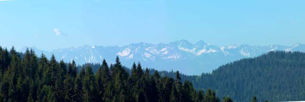 The High Tatras from Gorce.