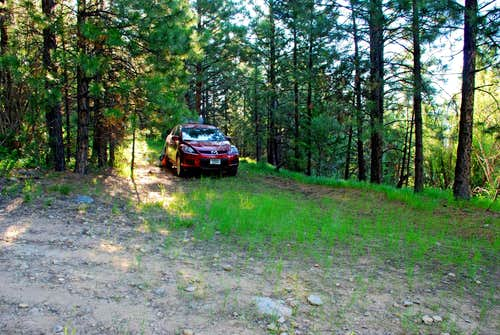 Soda Springs Trailhead