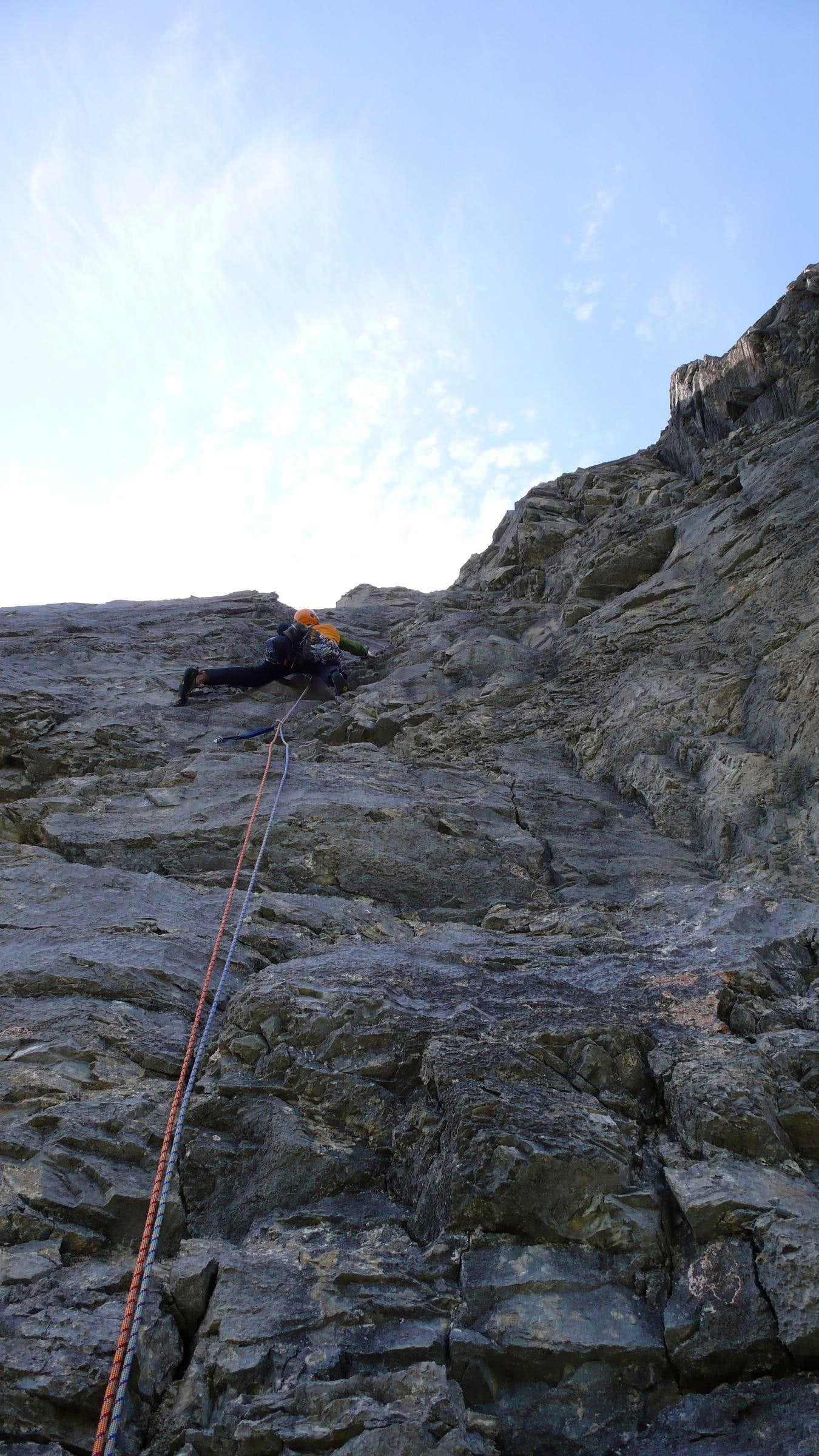Angelus Vicia, 5.10a, 8 Pitches