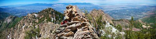 Wildcat Ridge scrambling
