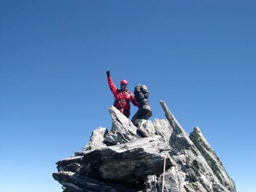The summit of Pico Bolivar....