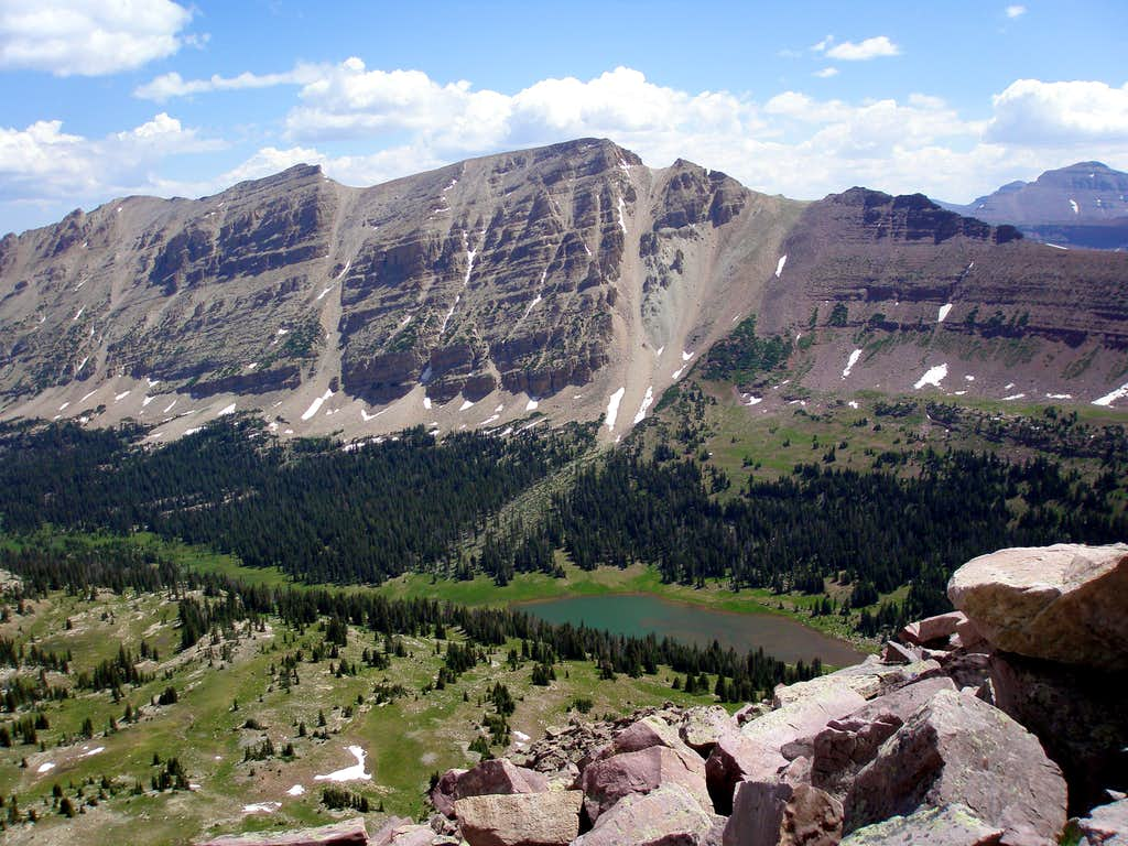 North Allsop and Allsop Peaks