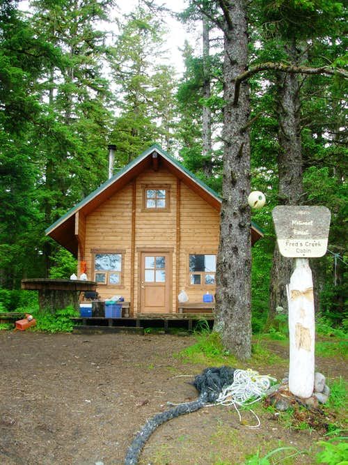 Fred\'s Creek Cabin