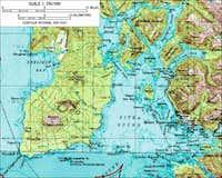 Edgecumbe Area Map
