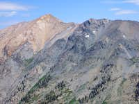 Mt. Eisen  (L)  near Blackrock Pass
