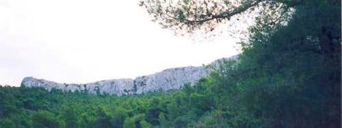 Terpsithea crag, under Stroma...